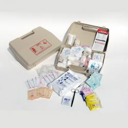 TROUSSE AID-BOX GARNIE AVEC SUPPORT