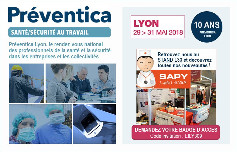 Salon Preventica Lyon du 29 au 31 mai 2018